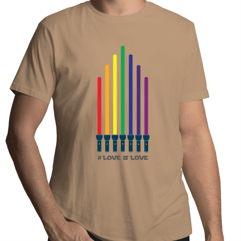 LGBT T-Shirt | Star Wars #LoveIsLove Unisex - RainbowRoo