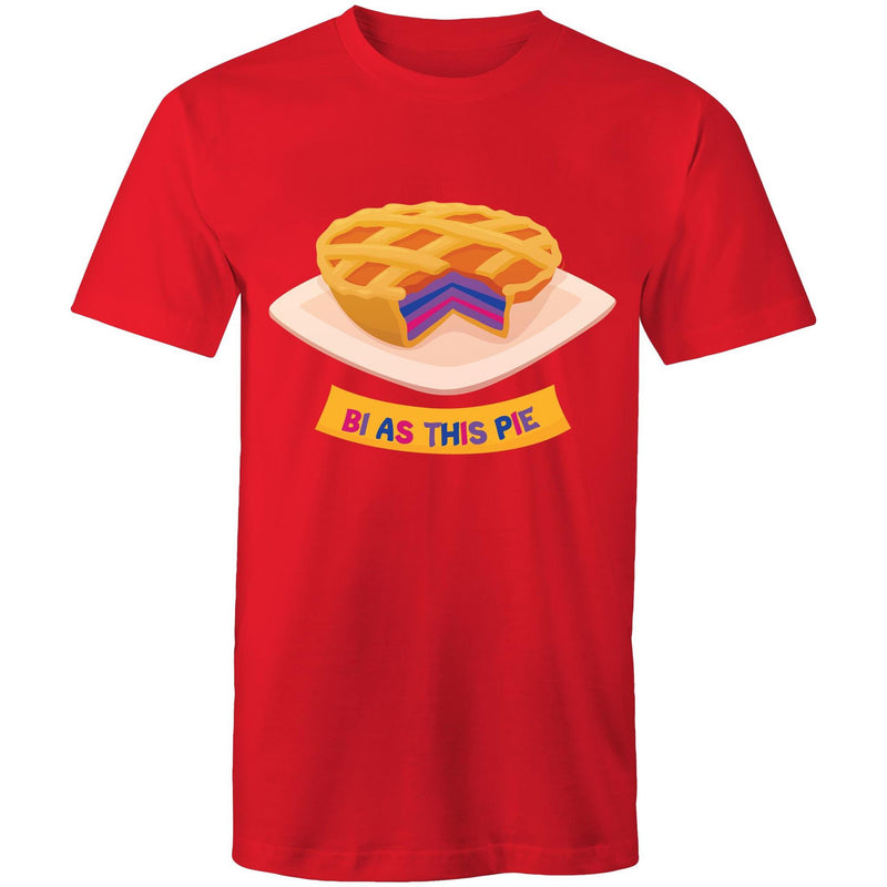 Bisexual T-Shirt | #Bi As This Pie Unisex
