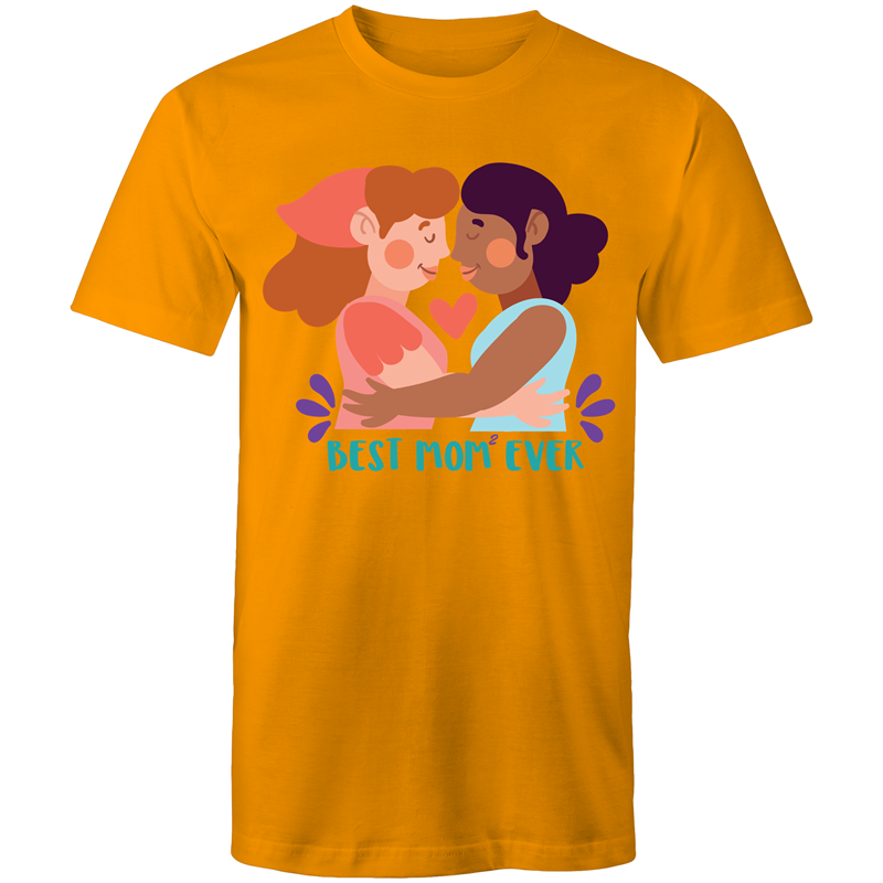 Lesbian T-Shirt | Mother's Day #BestMomEver Unisex - RainbowRoo