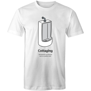 Gay T-Shirt | Dicktionary Cottaging Male - RainbowRoo