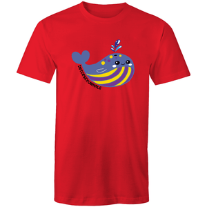 #Intersexuwhale Whale T-Shirt Unisex - RainbowRoo