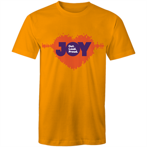 JOY 94.9 | Heart Sound Wave Unisex - RainbowRoo