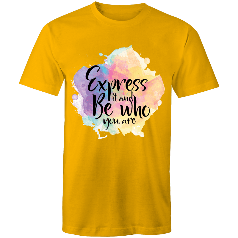 Coming Out Quote Express It T-Shirt Unisex - RainbowRoo