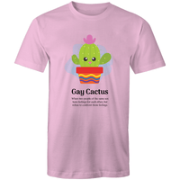 Dicktionary Gay Cactus T-Shirt Unisex (LG045)