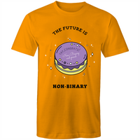 The Future is Non Binary Cake T-Shirt Unisex (NB006)