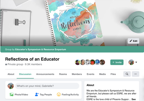 Reflections of an Educator Facebook Group