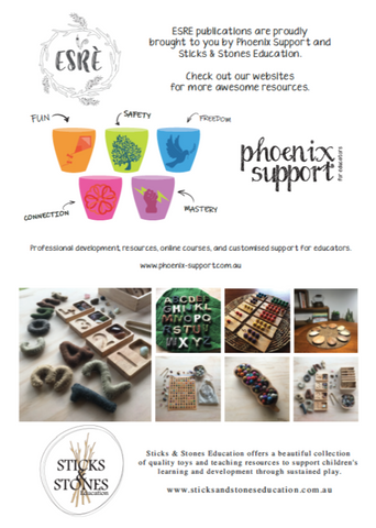 sticks and stones education and phoenix support for educators are proud sponsors of this page