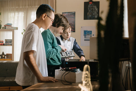 kids as computer experts