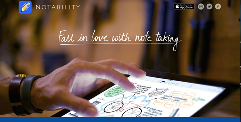 notability app for reflections of an educator products