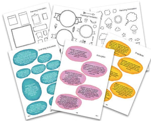 Educators Scrapbook Series #2 PRINTABLE