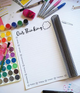 Perpetual Quarterly Planning Diary for Educators