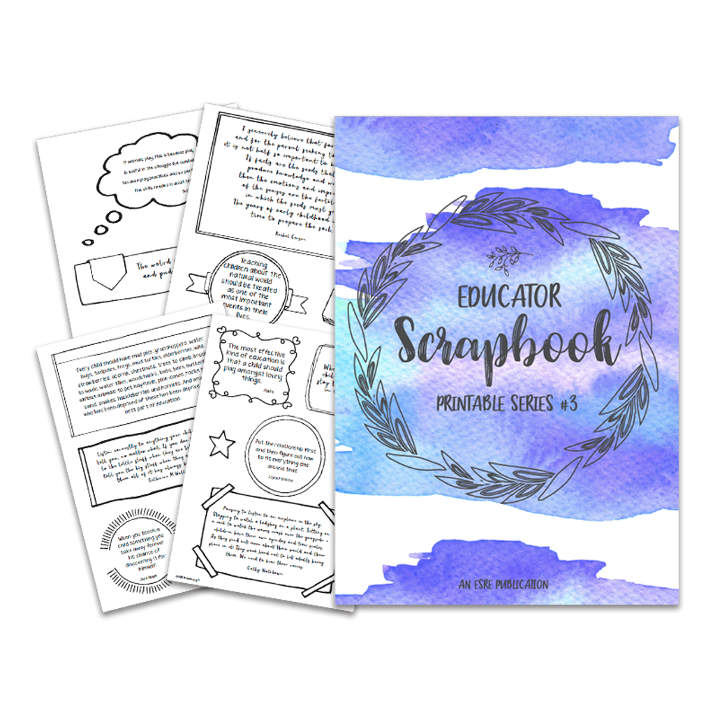 Educators Scrapbook Series #3: An ESRE Quote Collection || PRINTABLE