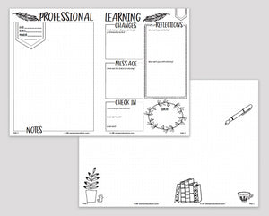 Professional Learning Notebook for Educators (e-Book)