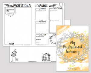 Professional Learning for Educators E-Book