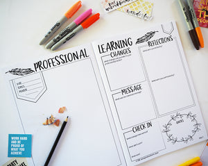 Professional Learning Notebook for Educators