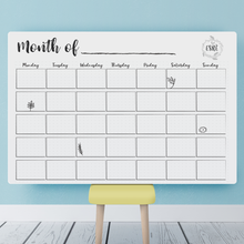 Planning Calendar for Educators PRINTABLE