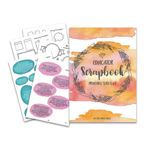 Educators Scrapbook Series #2 || PRINTABLE