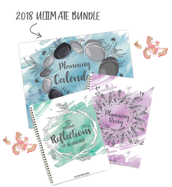 2018 Ultimate Educator's Bundle (Journal + Diary + Calendar)
