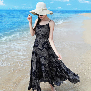 New Arrival 2017 Women Dress  Bohemian Print Vestidos