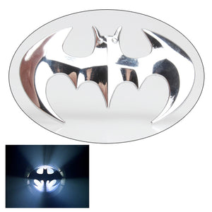 Cool 3D Car Styling Stickers Stainless Stell Bat Batman Badge Sticker Tail Decal Motorcycle Car Decorative Accessories