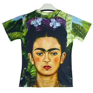 2017 New Fashion Women/men 3d T Shirt Frida Kahlo Print DAFT PUNK T-shirt Harajuku Character Women Men T-shirts Tops Funny  Tops