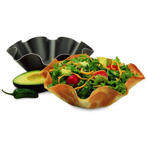 Black Tortilla Baking Not Fried Mold Pan Great Non-stick Taco Bowls For Kitchen Tool