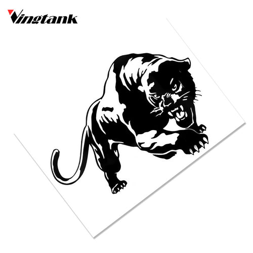 Vingtank 19.5*13.8cm Cool Tiger Car Sticker Decals Window Wall Sticker Decal Car Stickers Decal Car Sticke
