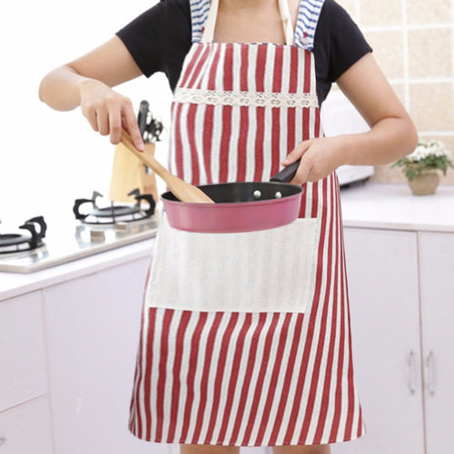 Kitchen Apron Adults Apron Women Men Dinner Party Cooking Apron Easy Cleaning Kitchen Accessories Anti-oil Cooking Apron