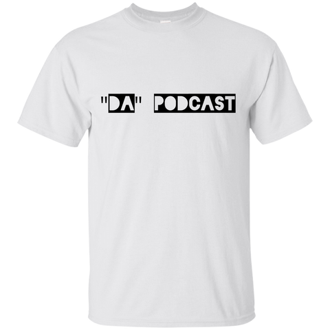 """Da"" Podcast Cotton T-Shirt"