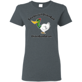 Saturdays With Chickenduck Ladies' T-Shirt