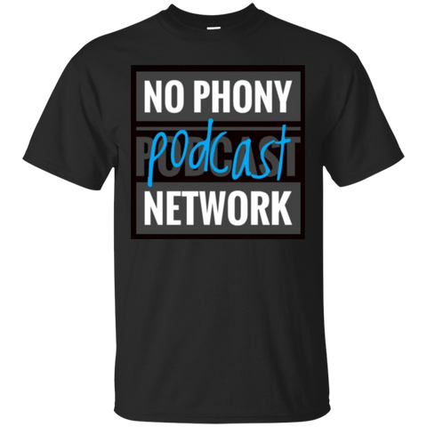 No Phony Podcast Network Cotton T-Shirt