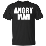 Shooting The Shiznit Angry Man Cotton T-Shirt