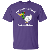 Saturdays With Chickenduck Cotton T-Shirt