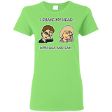 I Shake My Head Ladies' T-Shirt