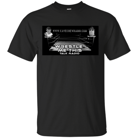 Wrestle Me Radio  Cotton T-Shirt
