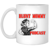 Blunt Mommy Podcast White Mug
