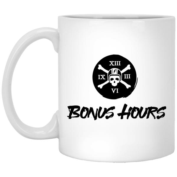 The Bonus Hours White Mug