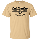 Who's Right Navy T-Shirt