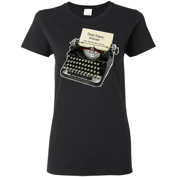 Dear Diary Podcast Ladies T-Shirt