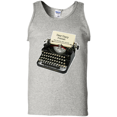 Dear Diary Podcast Cotton Tank Top