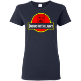 DrinksWithLarry Ladies T-Shirt