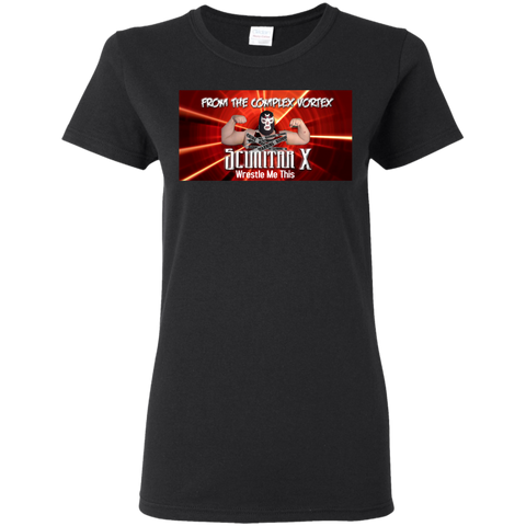 Wrestle Me Radio Ladies T-Shirt