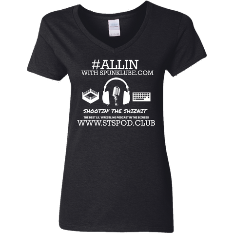 ALLIN STS Ladies V-Neck T-Shirt