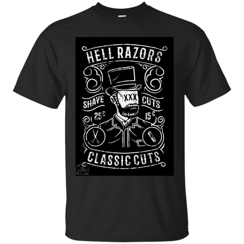 Cun-tees HellRazors Cotton T-Shirt