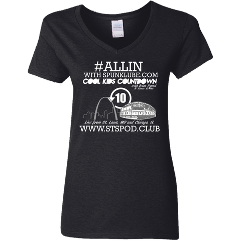 ALLIN CKC Ladies V-Neck T-Shirt