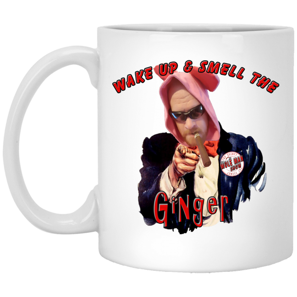 The Mole Man Show 11 oz. White Mug