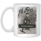 Po' Boys Podcast White Mug