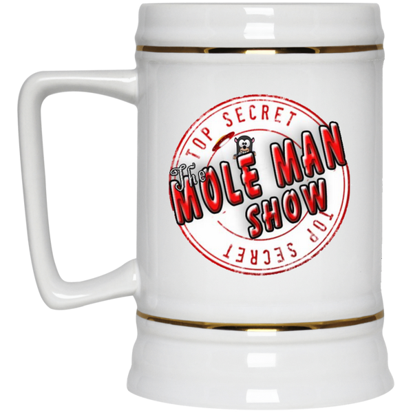 The Mole Man Show Beer Stein 22oz.