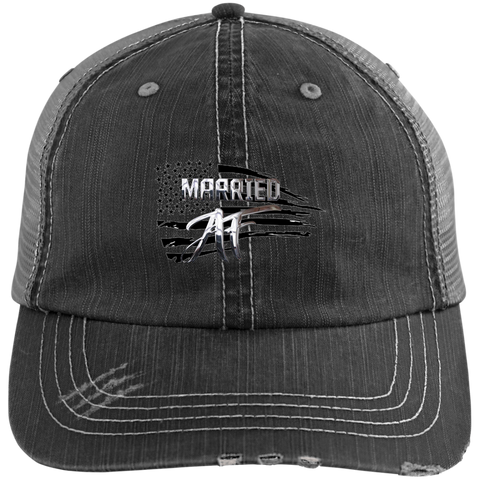 Married AF Podcast Unstructured Trucker Cap