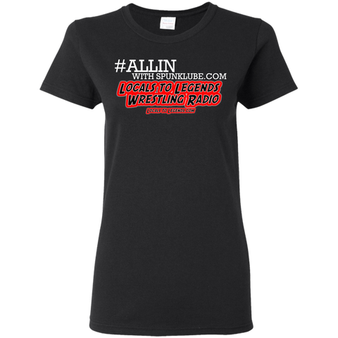 ALLIN LOCAL Ladies T-Shirt